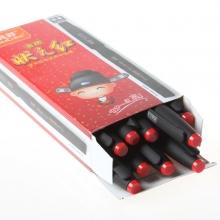 真彩状元红V2168碳素中性笔   12支/盒