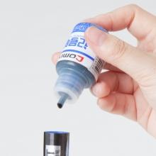 齐心M808记号笔墨水补充液大头笔油性笔墨水可搭配MK808记号笔