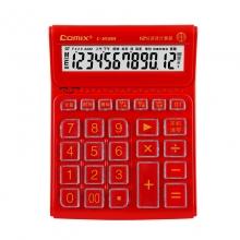 齐心C-8588语音水晶大按键计算机12位数办公财务专用大屏幕带电池