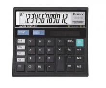 齐心C-512商务计算器99位回查数及纠正 双电源办公商务型
