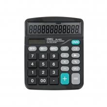 得力(deli)DL-837 12位太阳能双电源计算器