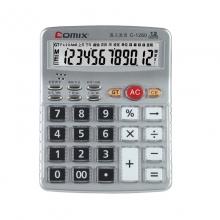 齐心语音计算器  办公财务会计专用C1260