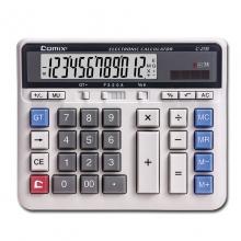 齐心文具C-2135办公计算器 电脑按键银行财务专用