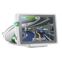 凯立德官方出品K310(白色)5英寸高清汽车车载GPS导航仪