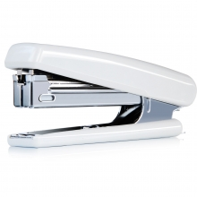 得力0221正品 钉书机10#商务轻巧型办公文化用品带起钉器功能
