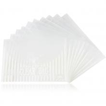 得力5502优质PP塑料按扣A4文件资料透明袋