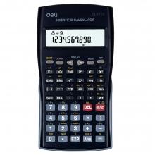 得力正品1703学生考试专用函数计算器独立存储可滑动保护盖