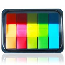 得力(deli) 9060 五色抽取式荧光指示标签  44*12mm 五色/包