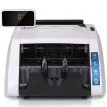 得力3925全智能混点语音可旋转屏幕便携式免升级验钞机