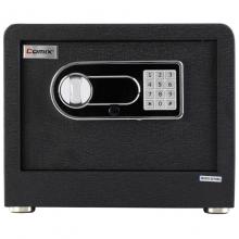 齐心BGX-28DS电子密码入墙全钢保险箱