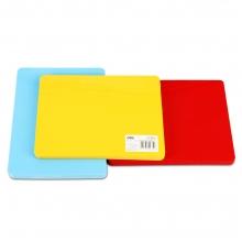得力9352  198*148mm A5塑料垫板 单片价  颜色随机