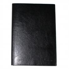 博文550 PU皮面商务记事本复古风格 B5尺寸  黑色