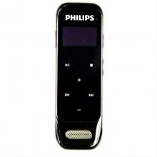 飞利浦(PHILIPS) VTR6600 8GB超薄设计 高清触摸微型数字降噪录音笔 锖色