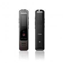 飞利浦(PHILIPS) VTR6100 4GB高清微型数字降噪 PCM分段录音 FM录音笔 深枪色