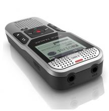 飞利浦(PHILIPS) DVT1000 2GB 双麦克风立体声 PCM线性录音 智能数字降噪 原装正品进口录音笔 银色