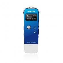 飞利浦(PHILIPS) VTR5600 4GB 数字降噪 便捷USB拔插录音笔 蓝色
