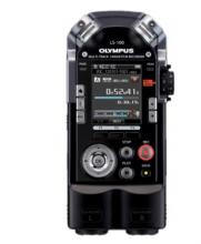 奥林巴斯(Olympus)LS 100 4G 录音笔 伯爵黑