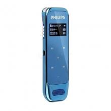 飞利浦(PHILIPS) VTR6600 8GB超薄设计 高清触摸微型数字降噪录音笔 蓝色