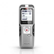 飞利浦(PHILIPS) DVT3000 2GB 原装正品进口录音笔 自动校准录音 PCM线性录音 银色