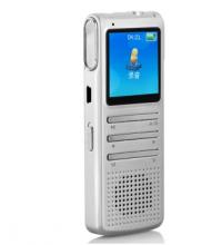 索爱(soaiy) DVR-508 录音笔(8G 1.44英寸 480P高清摄像 远距录音 智能降噪 锌合金 音乐播放) 银色