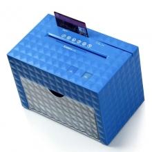 齐心(COMIX)水立方桌面碎纸机(4张纸一次\4级保密\续航3min)S150