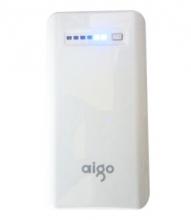 aigo 无线云存储/移动电源/无线WIFI/充电宝/云电宝 RS190/RL9000 9000毫安 银灰色