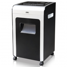 得力 DELI 33045 大气商务多功能空气净化办公碎纸机 3级保密/单次碎纸16张/液晶显示屏