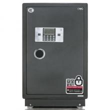 得力(deli)电子密码防盗保险箱3617(黑灰色)