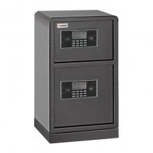 齐心 COMIX BGX-78SI 加固型GA认证双层电子密码保管箱 A3全钢板M级保密