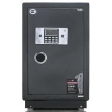 得力(deli)电子密码防盗保险箱3615(黑灰色)