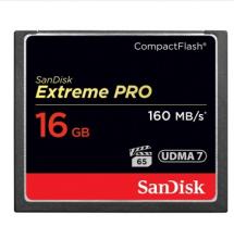 闪迪 SANDISK 16GB 1067X 至尊超极速CF存储卡 读速160MB S
