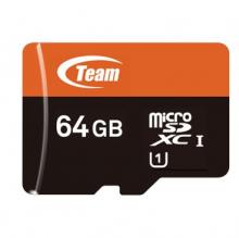 十铨 TEAM 高速MICROSDXC-TF 存储卡 64G-CLASS10
