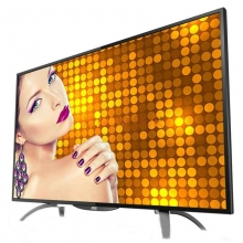 AOC LD55V02S 55英寸超薄超高清安卓4.4智能液晶电视/显示器(黑色)