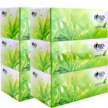 心相印纸巾面巾纸 茶语盒抽纸200抽x3盒x12提 套装H200