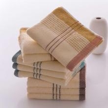 金号毛巾 纯棉提缎条纹柔软吸水全棉面巾 0120