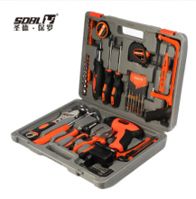 SD-012圣德保罗 51件套手工电动五金工具组合含电钻