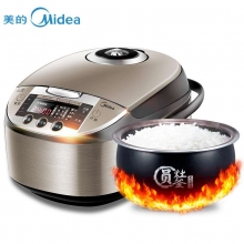 美的(Midea)WFS4057智能立体加热电饭煲 4升/4L 金属色 WFS4037升级款