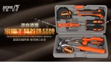 圣德保罗 9件套手动工具组合包 家用五金SD-007-C