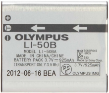 Olympus/奥林巴斯LI50B LI-50B电池VG170 VR350 SZ31 SZ16 SP810
