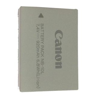 佳能(canon)NB-10L 锂离子充电电池 适用于佳能G1X G16 SX60 相机
