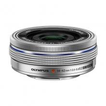 奥林巴斯(OLYMPUS) M.ZUIKO DIGITAL ED 14-42mm f3.5-5.6 EZ  电动饼干变焦镜头 银色/黑色
