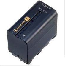 索尼NP- F970原装电池专业摄像机电池F970适用198P Z5C1500C NX3C