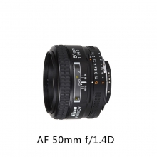 Nikon/尼康 AF 尼克尔 50mm f/1.4D 定焦 尼克尔镜头 自动对焦