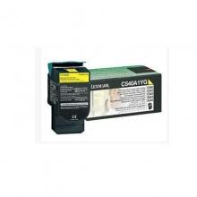 利盟 X746A1YG 黄色碳粉盒 适用X746原装打印机