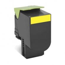利盟 LEXMARK 高容量碳粉盒 80C8HYE 3k (黄色)