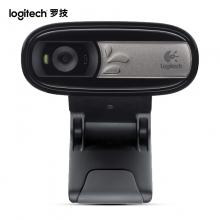 罗技(Logitech)C170 网络摄像头 黑色