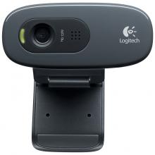 罗技C270高清网络台式电脑电视视频摄像头 免驱带麦克风