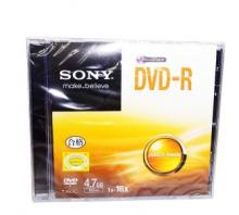 索尼(SONY)DVD-R 16速 4.7G 单片盒装 空白刻录盘 光盘 dvd刻录盘