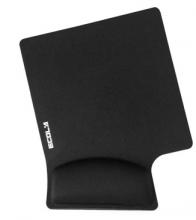 宜客莱(ECOLA)MPD-014PBK黑色 14°人体工学护腕型鼠标垫