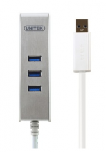 优越者(UNITEK) Y-3052 USB3.0 高速扩展3口HUB +SD读卡器集线器HUB